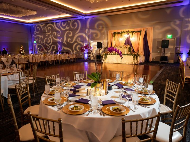 Tmx Hyatt Regency San Francisco Airport Wedding Reception Table Dancefloor 51 522419 158327607898537 Burlingame, CA wedding venue