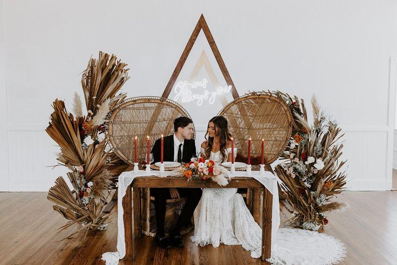 Sweetheart table  Kartsie