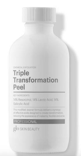 Triple transformation peel