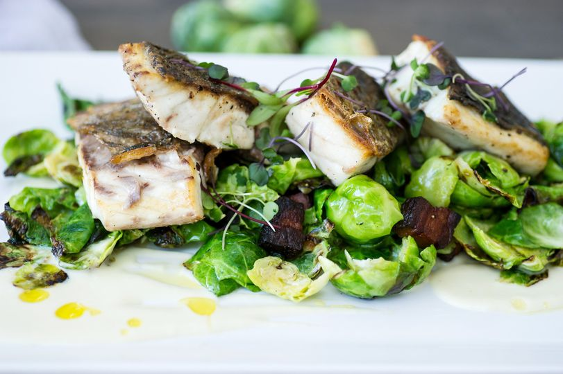 800x800 1426695777465 seared red fish with brussels sprouts and house ba