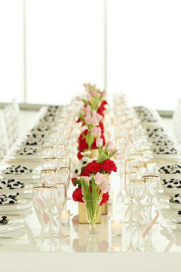 Long table setup