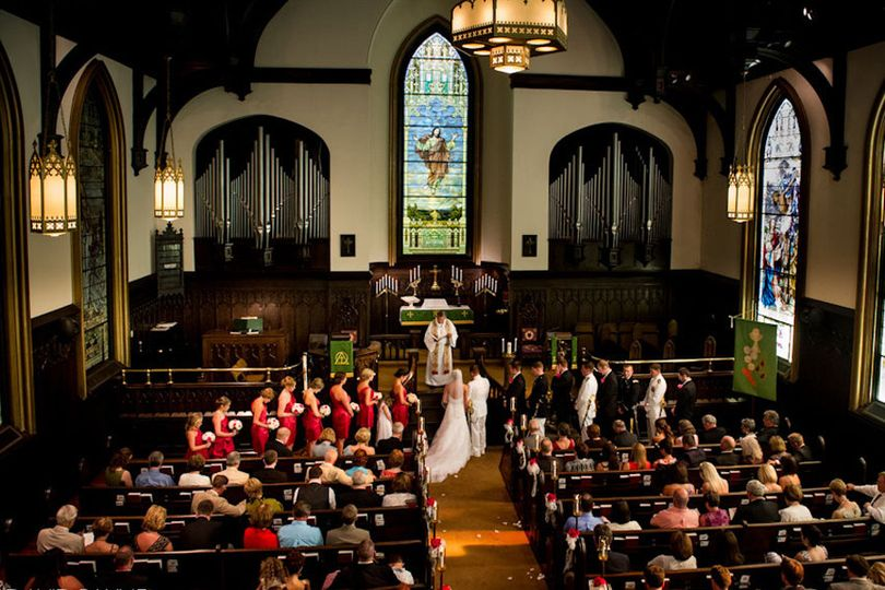 Church ceremony - David Payne Photography
