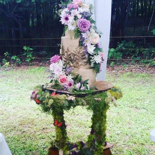 Whimsical fairytale wedding