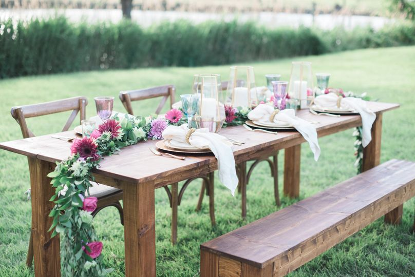 Table setting sample | Photo: Brittney Livingston Photography