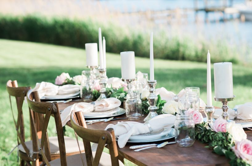 Table setup sample | Photo: Brittney Livingston Photography