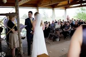 Pavilion wedding ceremony