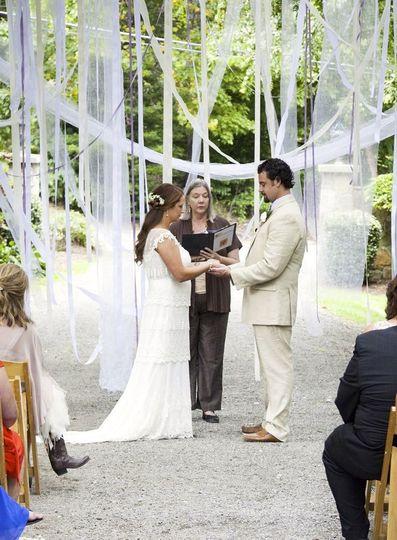 Hawkesedene House wedding
