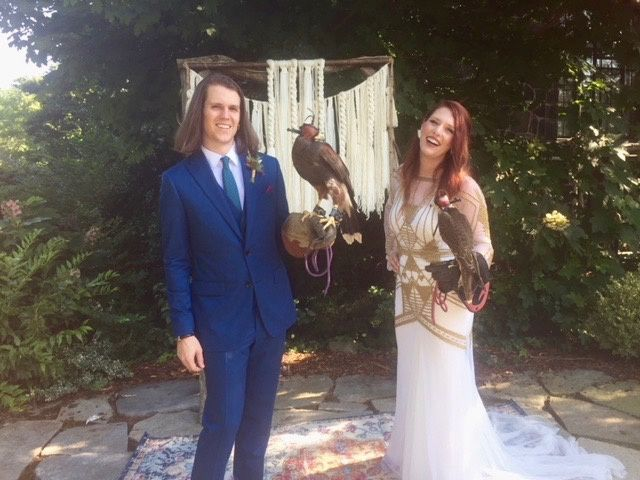 Handfasting with Hawks