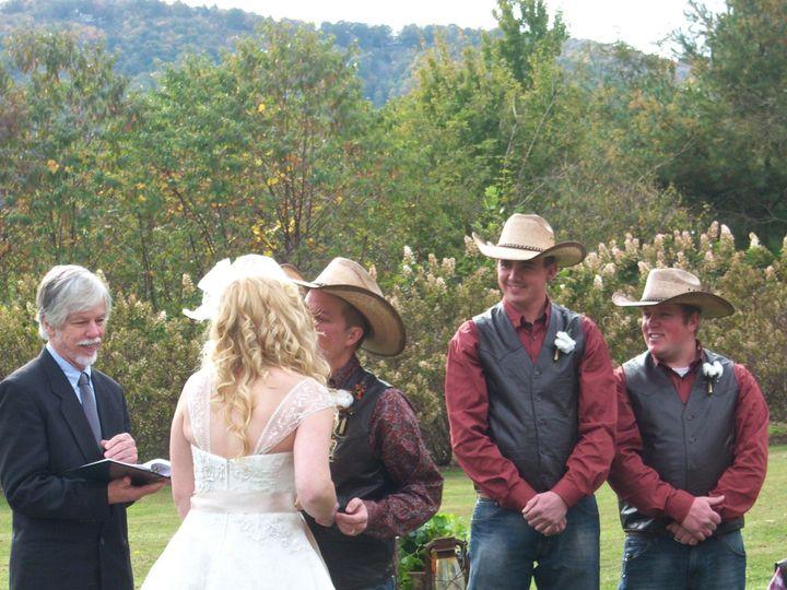 Tmx 1394030059169 Tom Cowboy Weddin Asheville, NC wedding officiant
