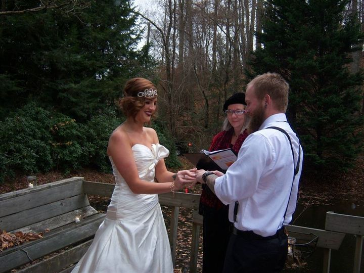 Tmx 1394030166360 Wed Yellow Hous Asheville, NC wedding officiant