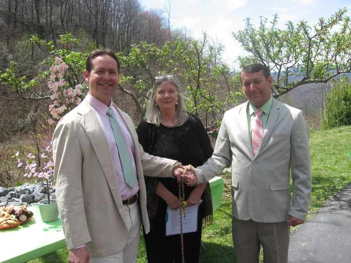 Tmx 1462407841332 Wed Handfasting 41016 Asheville, NC wedding officiant