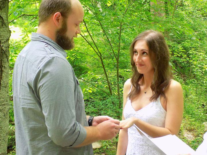 Tmx Elopement Rings Botanical Garden 2019 51 187419 1572797192 Asheville, NC wedding officiant