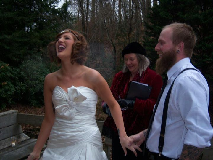 Tmx Laughing Bride 51 187419 Asheville, NC wedding officiant