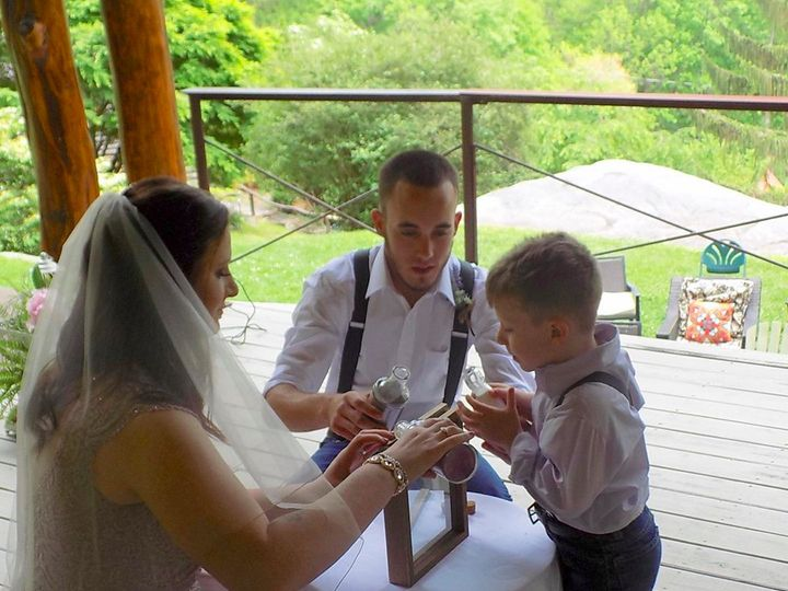 Tmx Sand Ceremony With Child 51 187419 1572797342 Asheville, NC wedding officiant