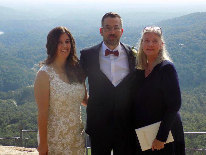 Tmx Wed Chimney Rock Sept 2019 51 187419 1572797390 Asheville, NC wedding officiant