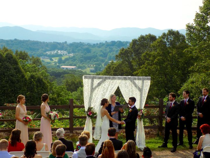 Tmx Wed Crest Center French 2019 51 187419 1572797633 Asheville, NC wedding officiant