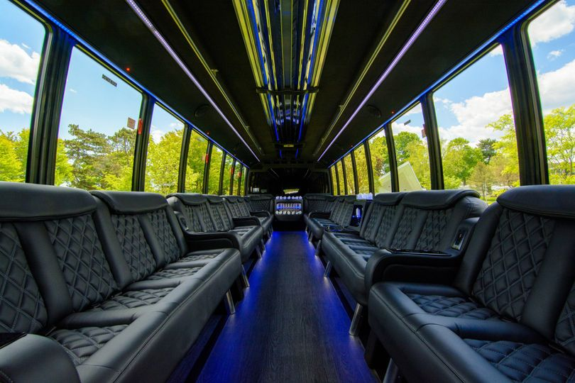 32 Limo Coach Interior