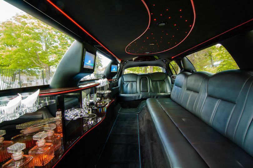 Stretch Limo Interior