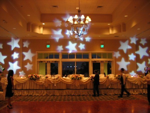 Sample of Free Lighting with all Wedding Packages.