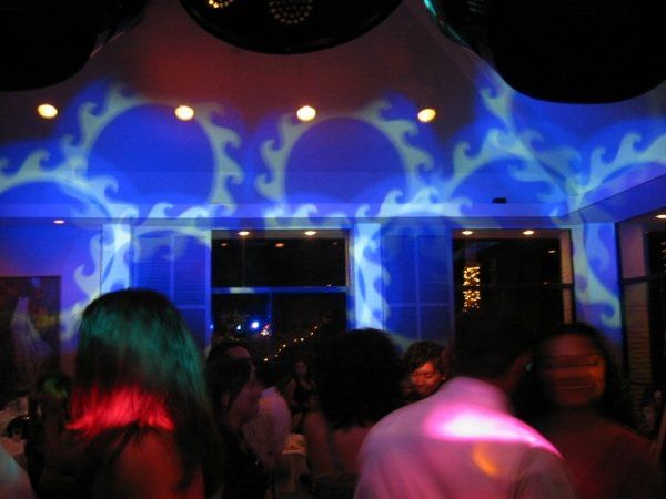 Sample of Free Lighting with all Wedding Packages. Sample picture of dance floor lighting.