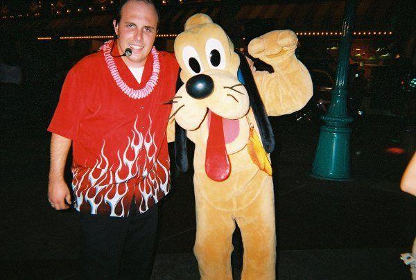 Performing at Disneyland!