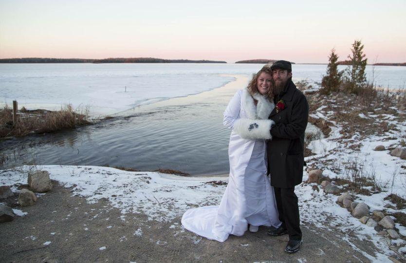 Winter weddings, yes!