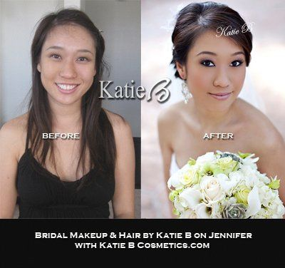 Bridal Makeup & Hair by Your's Truly Katie B on Jennifer