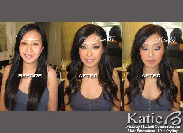 Bridal Mineral Makeup by Katie B. Bride Betty is wearing all KatieBCosmetics.com.