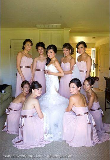 Bridal Makeup + Hair by Katie B. Bride is wearing all Katie B Cosmetics!