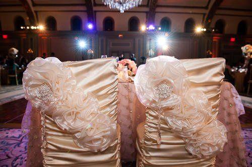 Tmx 1349212007851 PrincessChaircoverwithrosettes Santa Fe Springs wedding rental