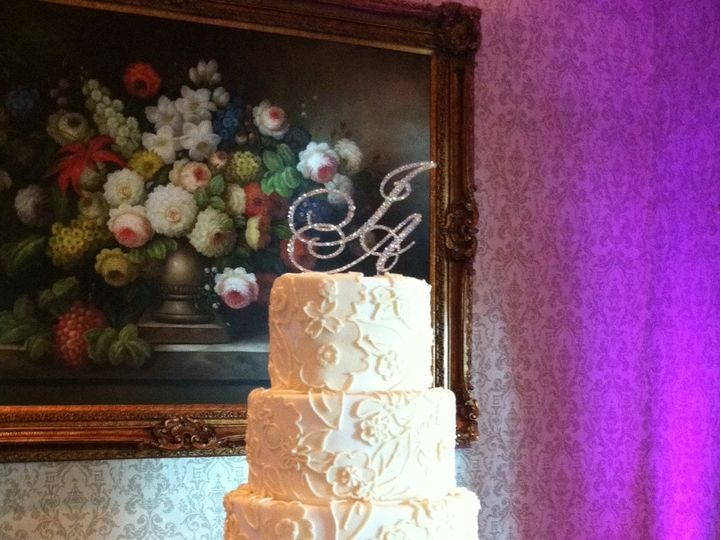 Tmx 1377292248886 Cake Topper And Rhinestone Stand Santa Fe Springs wedding rental