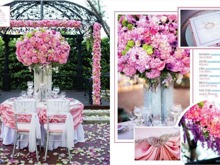 Tmx 1428440098479 Ceremony Spread Santa Fe Springs wedding rental