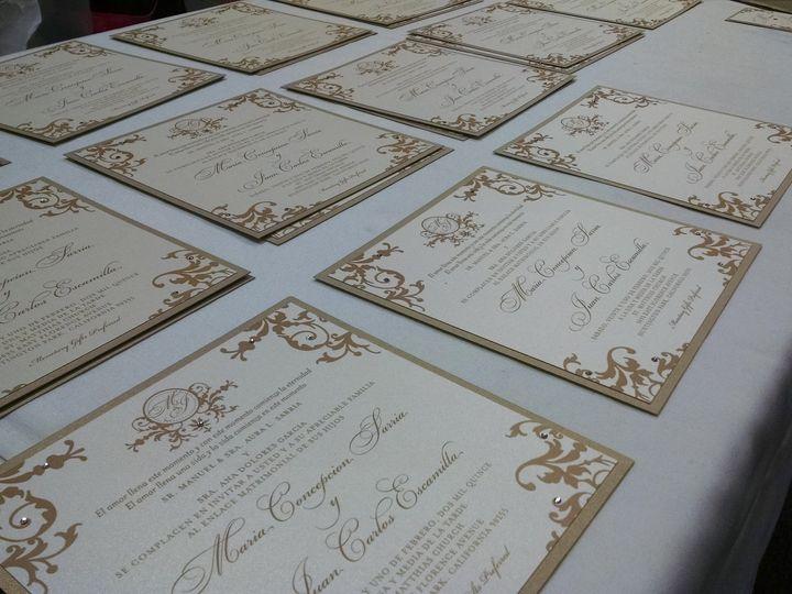 Tmx 1428441659240 Invitations In Production Santa Fe Springs wedding rental