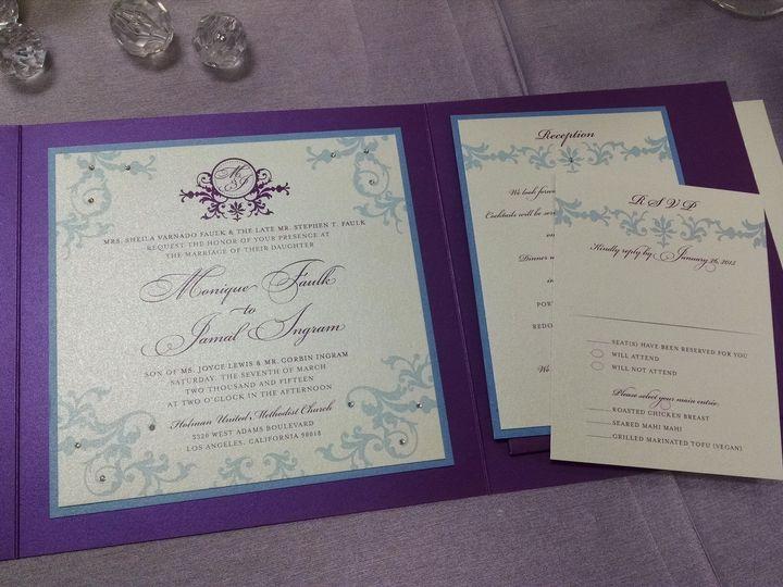 Tmx 1428441704514 Monique Invite2 Santa Fe Springs wedding rental