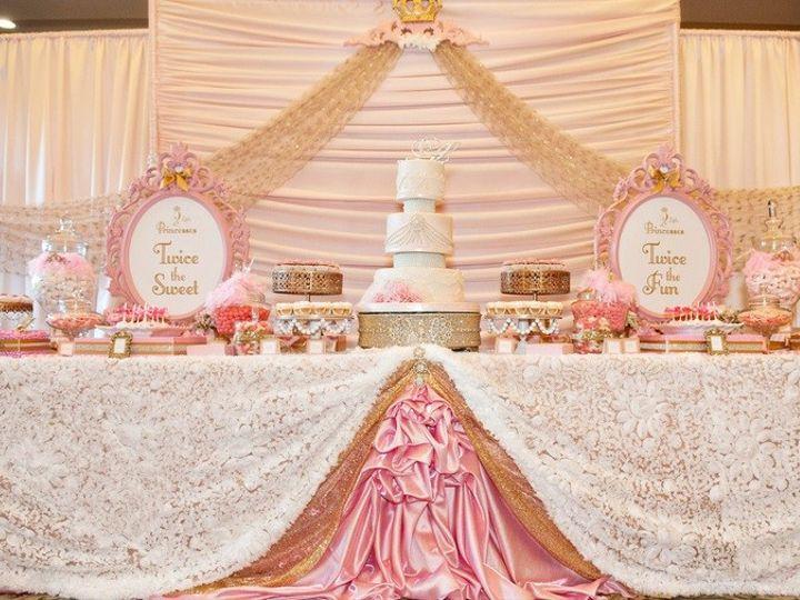 Tmx 1428445468332 Full Cake Table And Backdrop Santa Fe Springs wedding rental