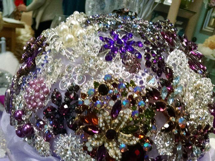 Tmx 1428445782517 Royal Purple Brooch Bouquet2 Santa Fe Springs wedding rental