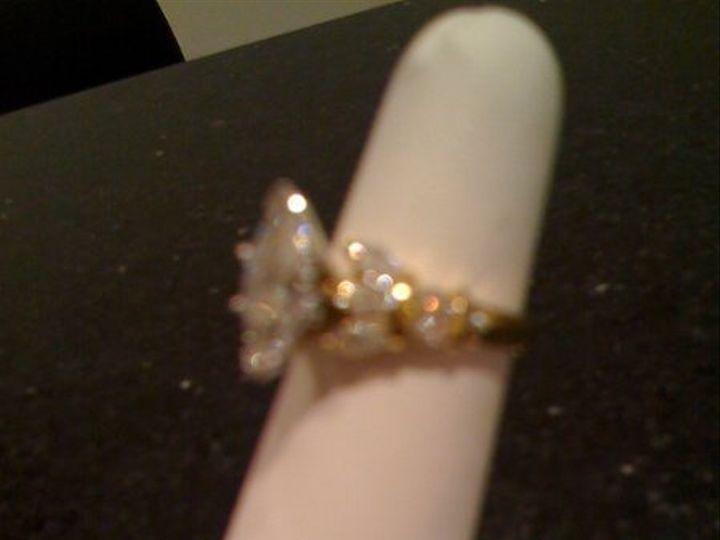 Tmx 1285560966688 Measetiquemarquisediamondring Shawnee wedding jewelry
