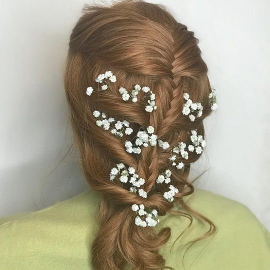 Baby's breath and braids