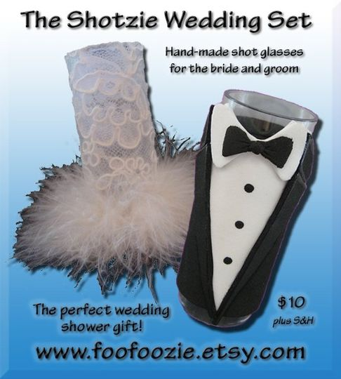 Visit my fun website for great wedding and bachelorette gift ideas! www.foofoozie.com