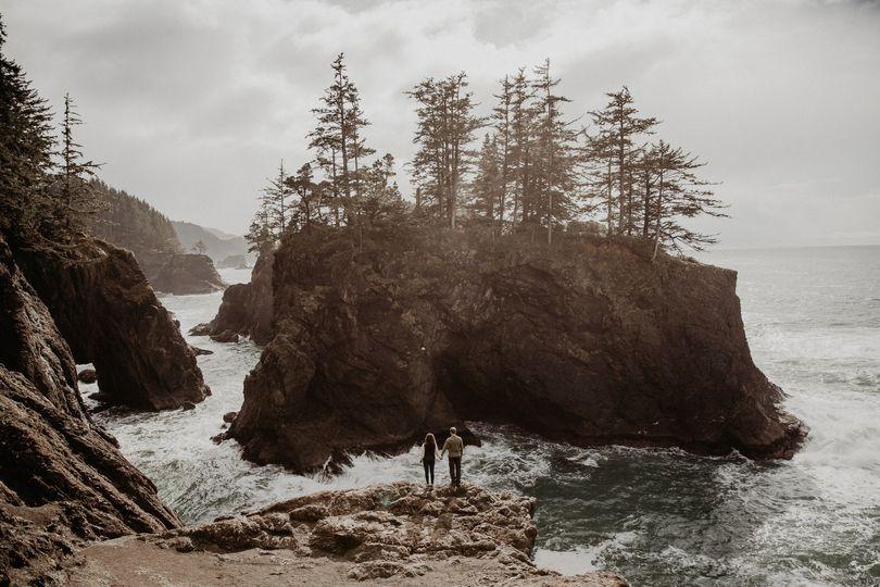 Oregon Coast Engagement Sesson