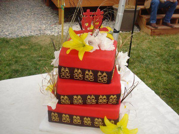 Tmx 1296592867544 AsianweddingCake Joplin wedding cake