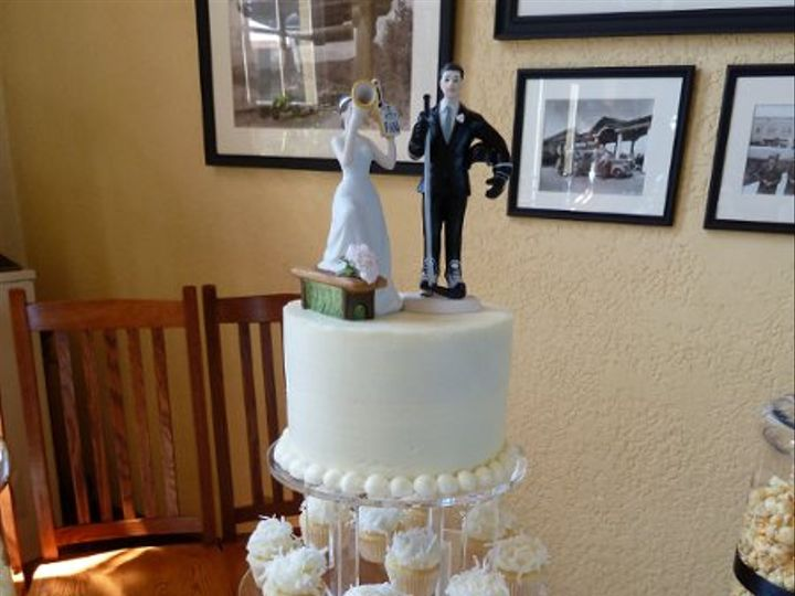 Tmx 1315850594864 MiniCupcakeTowers Joplin wedding cake