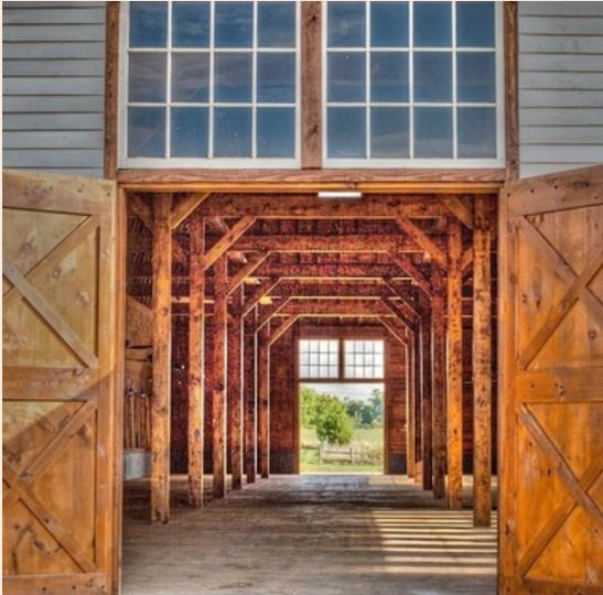 Willoughby's stunningly restored barn