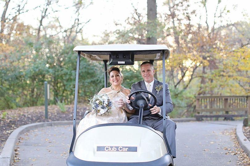 Driving groom