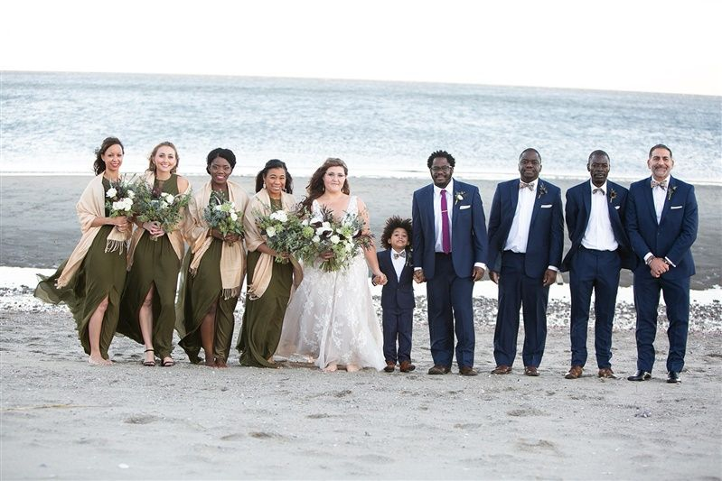 CT coastline wedding