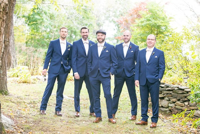 Some dapper groomsmen