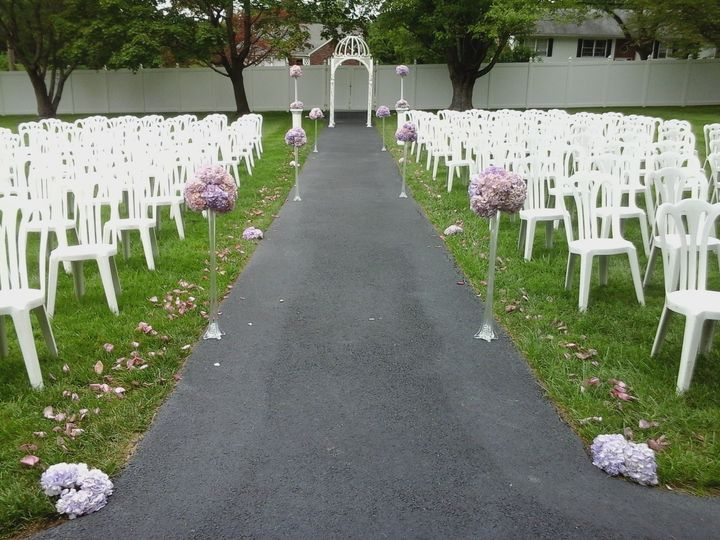 Ceremony seating for the guest