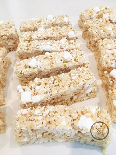 XO cakery | brown butter rice crispy for your dessert table, naturally gluten free sweets for your...