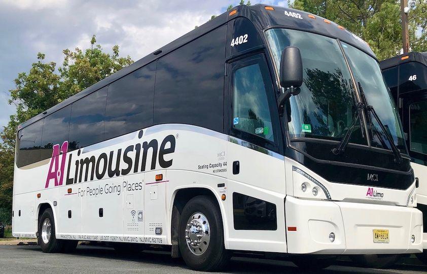 55+ passenger motorcoach