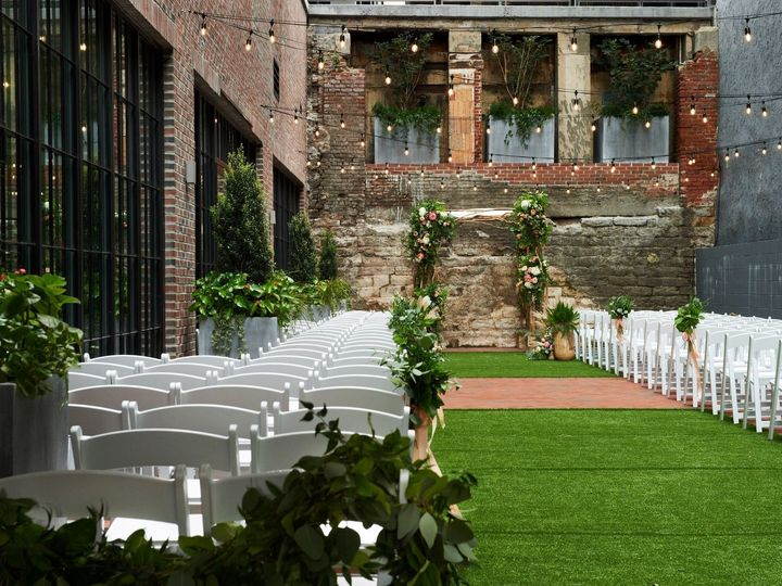 Tmx Outdoor Ceremony Long Aisle 51 1016519 159423889544535 Philadelphia, PA wedding venue